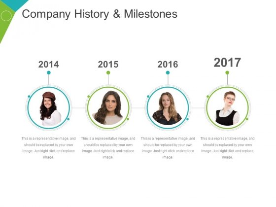 Company History And Milestones Template 1 Ppt PowerPoint Presentation Icon Picture