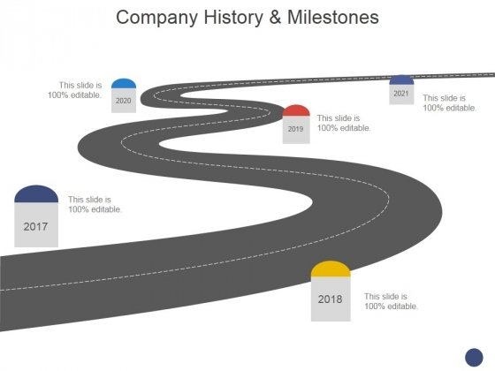 Company History And Milestones Template 2 Ppt PowerPoint Presentation Layouts Clipart