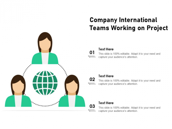 Company International Teams Working On Project Ppt PowerPoint Presentation File Layout PDF