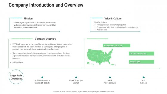Company Introduction And Overview Ppt Ideas Example Introduction PDF
