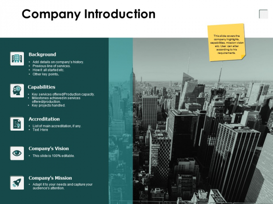 Company Introduction Growth Technology Ppt PowerPoint Presentation Infographic Template Show