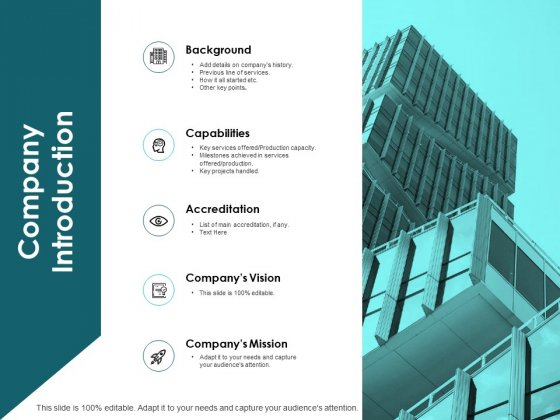 Company Introduction Ppt PowerPoint Presentation Design Templates
