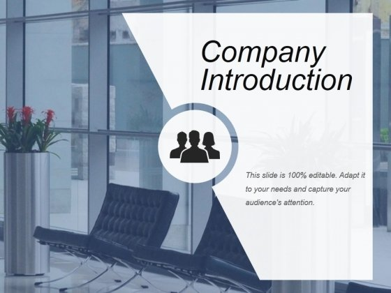 Company Introduction Ppt PowerPoint Presentation Tips