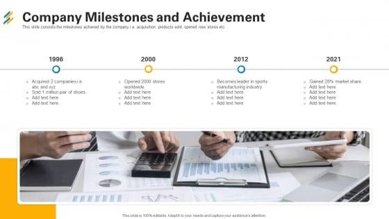 Company Milestones And Achievement Ppt File Slides PDF