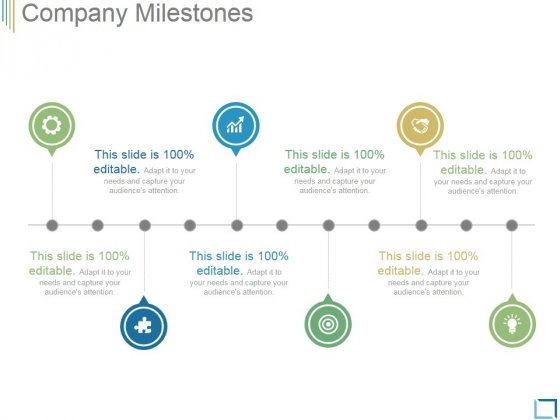 Company Milestones Template 2 Ppt PowerPoint Presentation Layouts