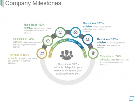 Company Milestones Template 3 Ppt PowerPoint Presentation Design Ideas