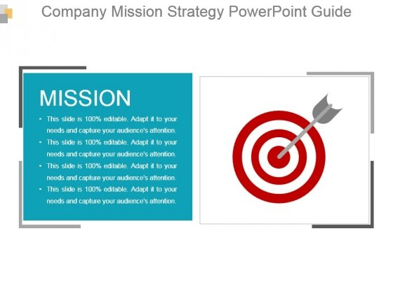 Company Mission Strategy Powerpoint Guide