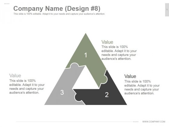 Company Name Design 8 Ppt PowerPoint Presentation Visual Aids