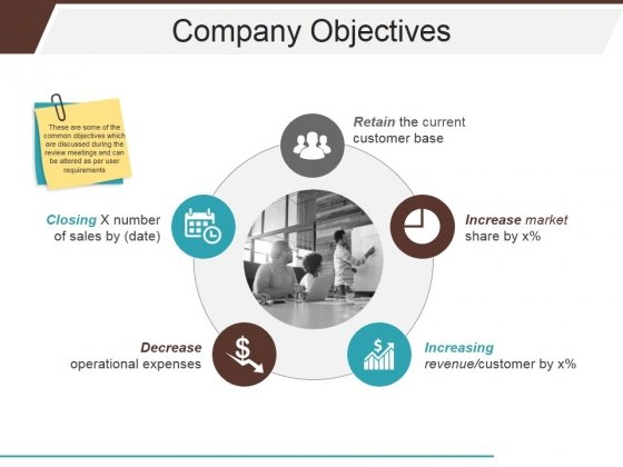 Company Objectives Ppt PowerPoint Presentation Show Samples