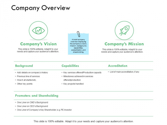 Company Overview Capabilities Ppt PowerPoint Presentation Styles Picture