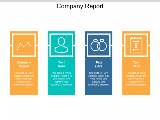 Company Report Ppt Powerpoint Presentation Slides Brochure Cpb