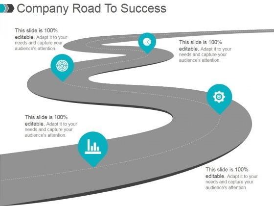 Company Road To Success Ppt PowerPoint Presentation Background Image