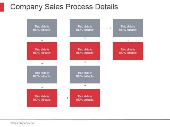 Company Sales Process Details Ppt PowerPoint Presentation Show
