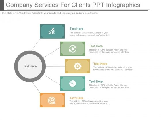 Company Services For Clients Ppt Infographics