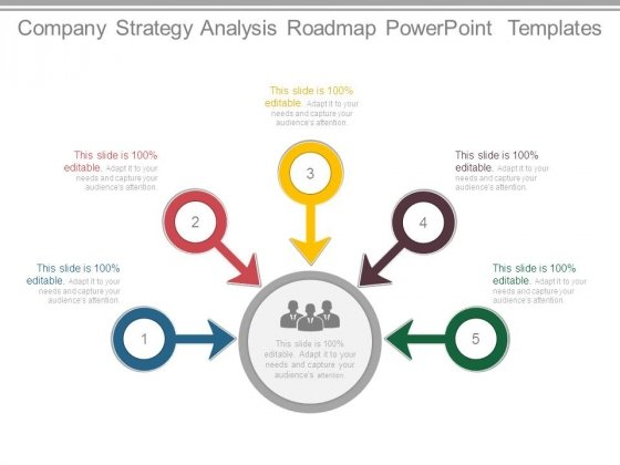 Company Strategy Analysis Roadmap Powerpoint Templates