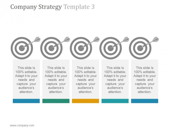 Company Strategy Template 3 Ppt PowerPoint Presentation Inspiration