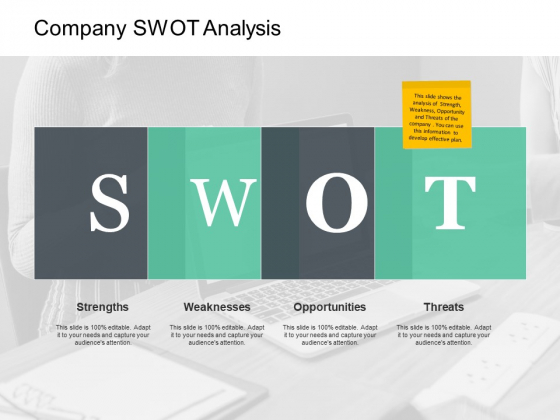Company Swot Analysis Strengths Ppt PowerPoint Presentation File Show