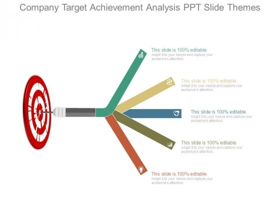 Company Target Achievement Analysis Ppt Slide Themes