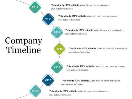 Company Timeline Ppt PowerPoint Presentation Ideas Guide