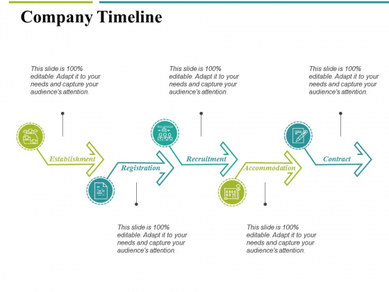 Company Timeline Ppt PowerPoint Presentation Infographic Template Graphics Example