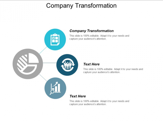 Company Transformation Ppt PowerPoint Presentation Professional Infographics Cpb