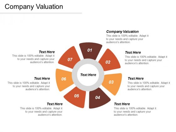 Company Valuation Ppt PowerPoint Presentation Summary Templates Cpb