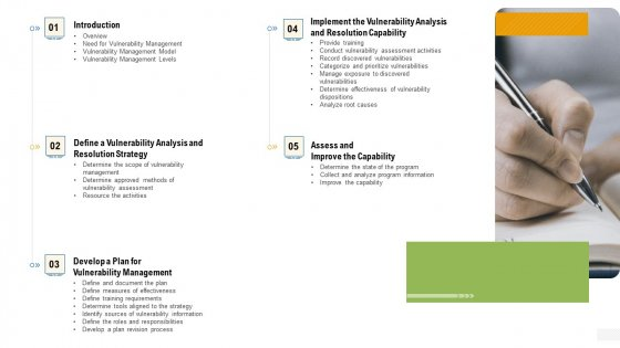 Company Vulnerability Administration Content Demonstration PDF