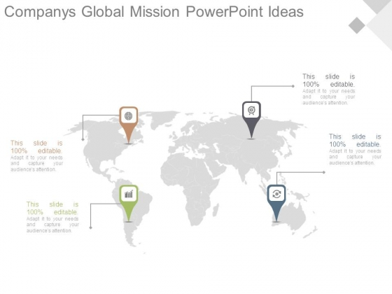 Companys Global Mission Powerpoint Ideas