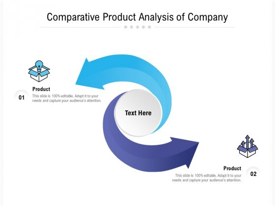 Comparative Product Analysis Of Company Ppt PowerPoint Presentation Icon Slideshow PDF