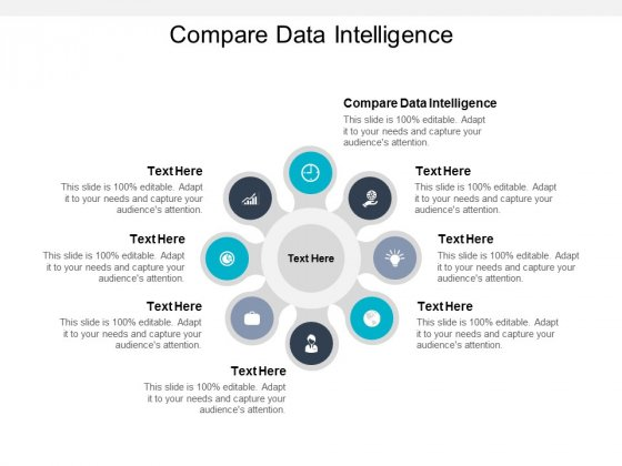 Compare Data Intelligence Ppt PowerPoint Presentation Show Example Introduction Cpb