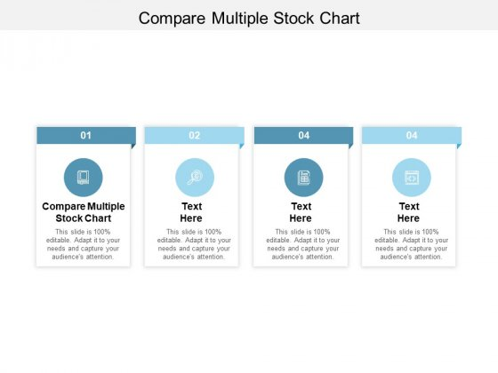 Compare Multiple Stock Chart Ppt PowerPoint Presentation Inspiration Layout Cpb