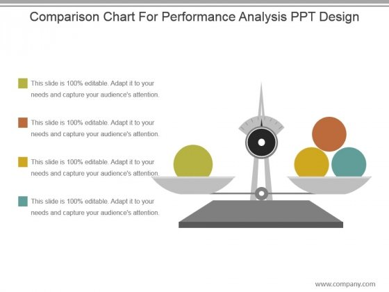 Comparison Chart For Performance Analysis Ppt Design