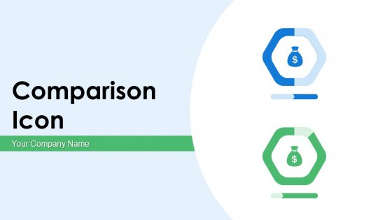 Comparison Icon Dollar Horizontal Ppt PowerPoint Presentation Complete Deck With Slides