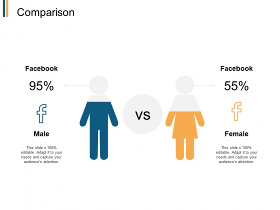 Comparison Male Female Ppt PowerPoint Presentation Inspiration Graphics Pictures