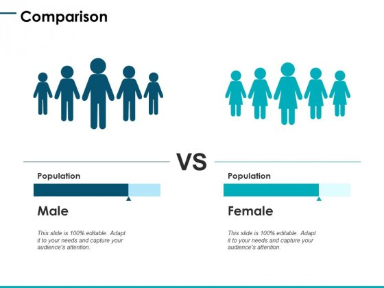 Comparison Male Female Ppt PowerPoint Presentation Layouts Microsoft