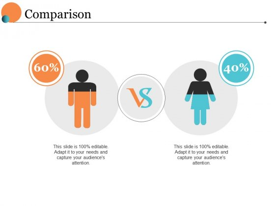 Comparison Male Female Ppt PowerPoint Presentation Pictures Deck