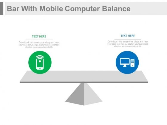 Comparison Of Mobile And Computer PowerPoint Slides