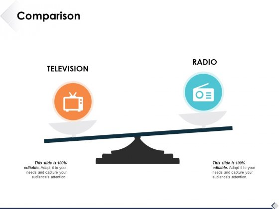 Comparison Television Radio Ppt PowerPoint Presentation Infographic