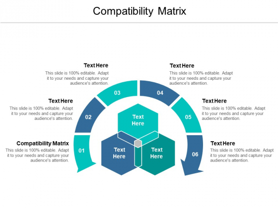 Compatibility Matrix Ppt PowerPoint Presentation Inspiration Deck Cpb