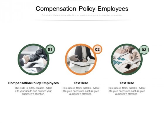 Compensation Policy Employees Ppt PowerPoint Presentation Outline Information Cpb Pdf