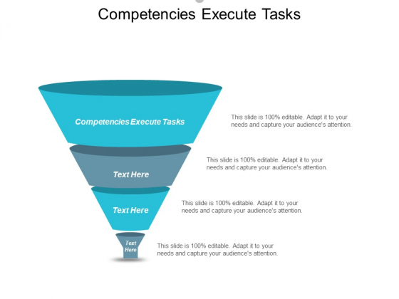 Competencies Execute Tasks Ppt PowerPoint Presentation Pictures Slide Download Cpb