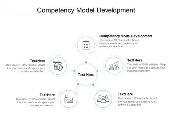 Competency Model Development Ppt PowerPoint Presentation Inspiration Maker Cpb