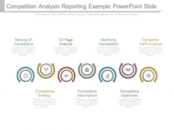 Competition Analysis Reporting Example Powerpoint Slide – Example of Competitor Analysis Report