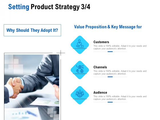 Competition In Market Setting Product Strategy Customers Ppt Layouts Graphics Pictures PDF