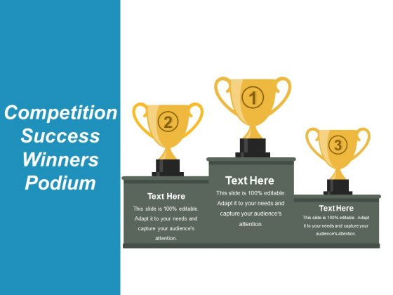 Competition Success Winners Podium Ppt PowerPoint Presentation Ideas Example