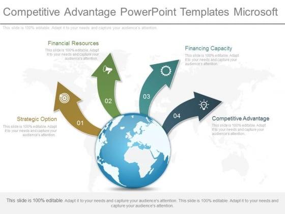 Competitive Advantage Powerpoint Templates Microsoft