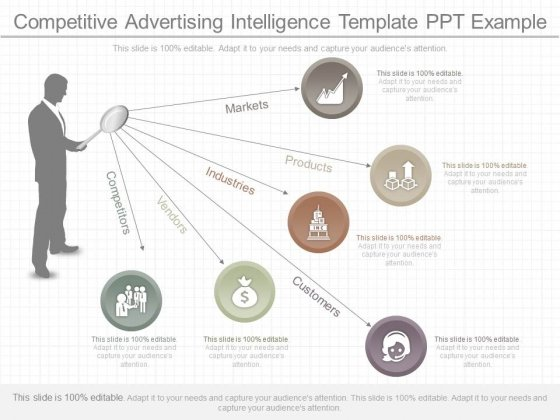 Competitive Advertising Intelligence Template Ppt Example