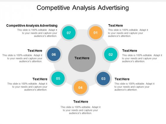 Competitive Analysis Advertising Ppt PowerPoint Presentation Inspiration Styles Cpb