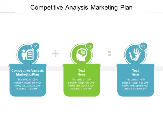 Competitive Analysis Marketing Plan Ppt PowerPoint Presentation Infographics Show Cpb
