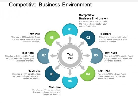 Competitive Business Environment Ppt PowerPoint Presentation Styles Gridlines Cpb